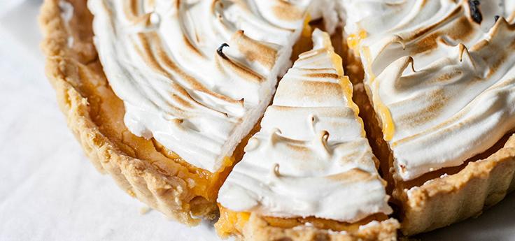 Recette tarte au citron meringuée - Café de l'Espérance